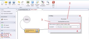 FTP Download file from server
